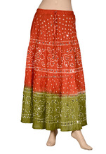 Beach wear / Resort Wear / Party Wear Cotton Long Skirt