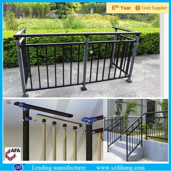 Escalier ext rieur balustrade rampe mains courantes pour for Escalier exterieur plastique