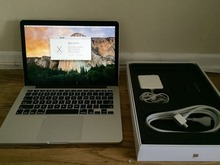 Discount Prices For New MacBook Pro i7 RETINA TB 3.7GHZ QUAD 512GB SSD 16GB - 2GB VID Laptop with