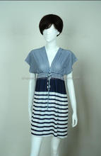95% POLYESTER 5% SPANDEX KNITTED DRESS