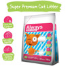Always Cat Litter 16Kg (450% Absorption)