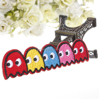 Fabric Monster Patch - Retro Monster Iron On Patch - Retro Sew On Patch Brand New And High Quality In Stock