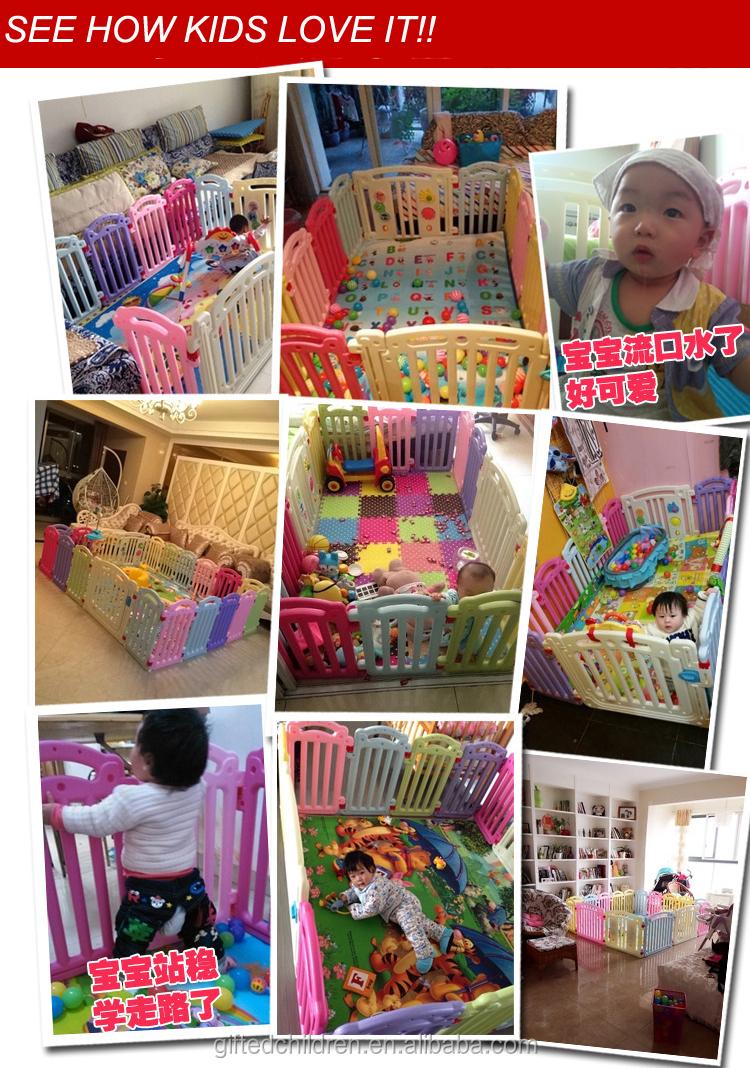 Plastic baby box indoor kinderen spelen hek op voorraad baby boxen ...