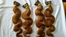 "Human Hair Extensions Machine Weft Wavy 10"" - 32"" Inch Indian Wavy Hair"