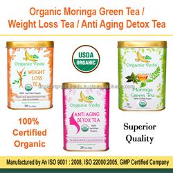 Organic Green Tea / Weight Loss Tea / Anti Aging Detox Tea