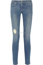 High Rise Channel Seam Skinny Black Womens Jeans