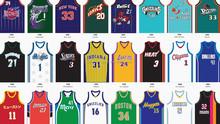 Custom made basketball jersey