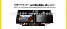 "Odhitec 5"" transflectivo para la luz del sol legible od050na500-as lcd"