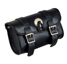 New Design Motorcycle buckle Tool bag for all types of bike and choppers. Top Quality Leather Motorcycle bag