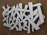MDF Wall Decor Strips Mirror