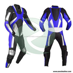 Motorcycle one and two piece motorbike leather racing suit