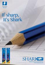 HB Pencil with Eraser Hexagonal