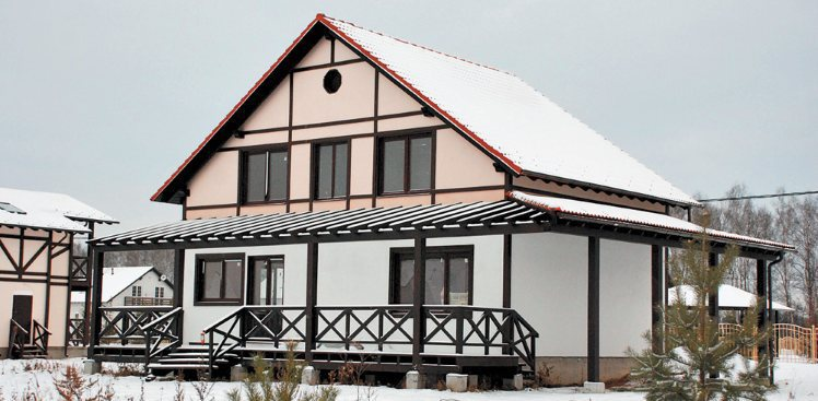 Prefabricated Wooden Timber Framing Houses