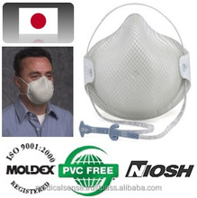 N95 certified air pollution masks at working site, MOLDEX