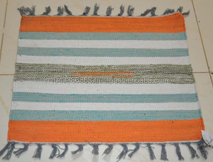 Indian wohnkultur handgewebte streifen teppich, großhändler für ...