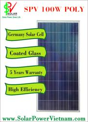 12V Solar Power Vietnam 100W Poly flexible solar panels prices