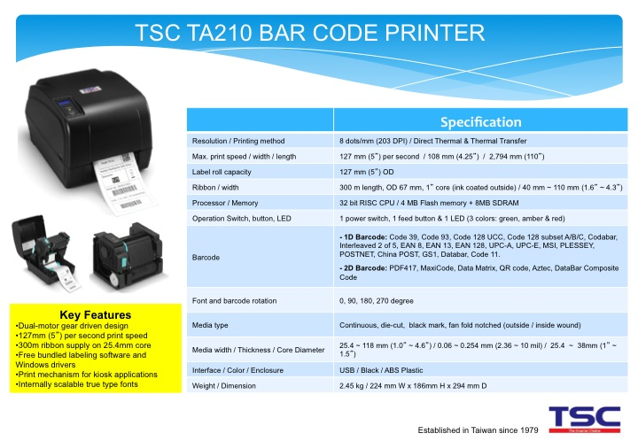 barcode system thesis