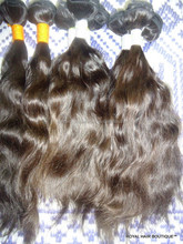 Grade 7A Natural Unprocessed Remy Raw Indian Braiding Virgin Human Hair Straight wavy Curly