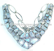 Artisan Crafted Blue Chalcedony Jewels