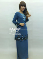 New Fashion Elegant Baju Kurung Beaded For Ladies