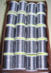 Shining Fly Tying Materials Super Round Tinsels on Spools