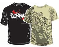 Attractive design T Shirt 100% cotton for men's
