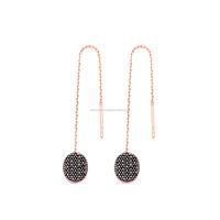 Sterling Silver Ear Thread Hook Earrings Turkish 2015 Wholesale 925 Sterling Silver Chain Earring