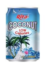 330ml Coconut Water Low Calories