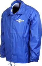 Custom Sky Blue Taaslan / coach jacket printing / coach jacket