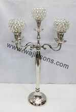 Antique Crystal Candelabra And Centerpiece For Wedding And Party Decor