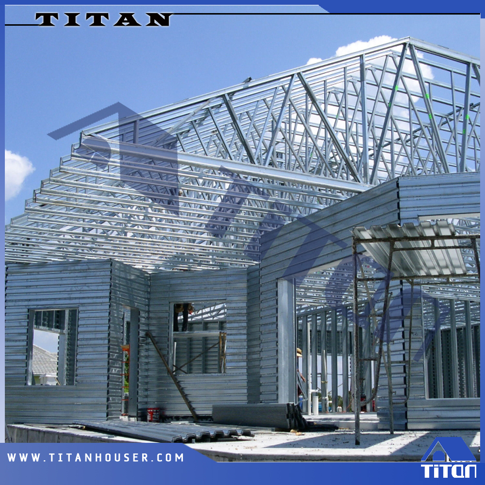 C stud steel prefab framing for gambrel roof trusses buy for Prefab gambrel roof trusses