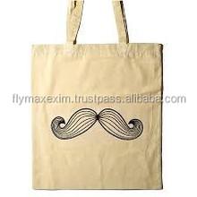 New Designer Foldable Organic Bamboo FabricShopping Bag/designer cotton shoppingbag/handmade cotton fabric shopping bag
