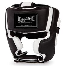 Custom Leather Boxing Helmet/Head Guard/Boxing Headgear