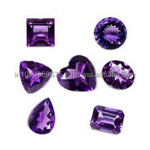 Bulk High Purple AA Amethyst Cut Stone Gemstone Wholesale polished cut stone Clear crystals Gemstone Manufacture Loose Gemston