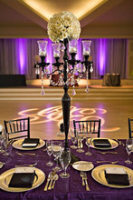 Wedding Candelabra,center piece crystal candelabra ,wedding table top candelabra