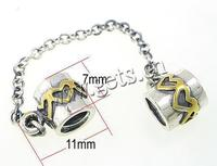Gets.com 925 sterling silver charm bracelet safety chain sterling silver