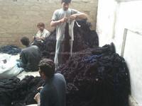Blue Denim yarn waste