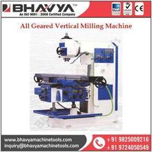 Standard Quality High Performance New All Geared Vertical Milling Machine
