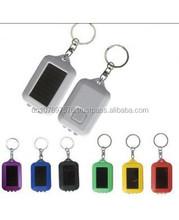 Solar key chain