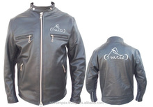 Leather Motorbike jacket/ Motorcycle apparel / Vintage jacket,2015