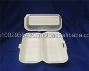 Polystyrene foam box - size 4 for Hotdog