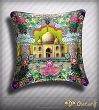 Famous Monuments Digital print Cushion Covers