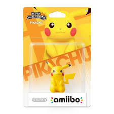 Nintendo Pikachu Amiibo Figure