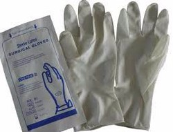 Sterile Latex Surgical Examination Gloves (Disposable)