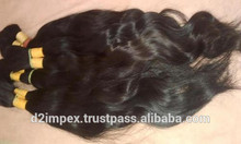 Cabello virgen de malasia paquetes para tejer, no mezcla, maraña- libre/jazz de onda del pelo