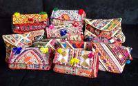 Desinger authentic style greek nomadic banjara Indian handmade vintage ethnic superior quality clutch bags
