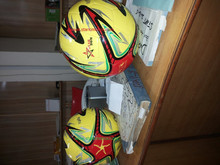 PU football soccer ball/ pu football World Cup ' size 5 machine sewn PVC football Customized Real leather foot ball