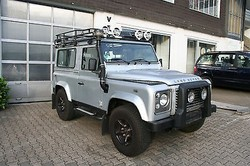Used Land Rover Defender 90 TD4 Pick Up - Left Hand Drive - Stock no: 12480