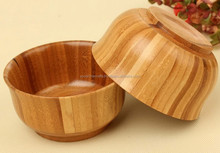 D11.2cm High quality bamboo bowls, Eco-friendly Creative home