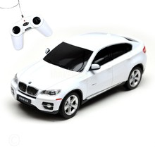 Rastar Licensed X6 with Remote Controlled Battery Operated RC Toy Racing Model Car Diecast 1:24 Scale White